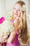 Retrato de la muchacha atractiva Fotos de archivo libres de regalías