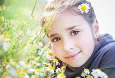 Retrato de la muchacha bastante adolescente Imagen de archivo libre de regalías