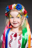 Retrato de la muchacha bonita imagen de archivo