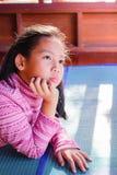 Retrato de la muchacha bonita del adolescente Foto de archivo libre de regalías