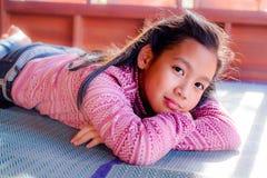 Retrato de la muchacha bonita del adolescente Fotos de archivo