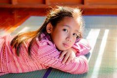 Retrato de la muchacha bonita del adolescente Fotografía de archivo