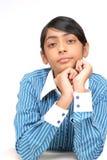 Retrato de la muchacha bonita india Imagen de archivo
