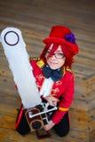 Retrato de la muchacha cosplay Foto de archivo libre de regalías