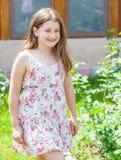 Retrato de la muchacha de 10 años Imágenes de archivo libres de regalías
