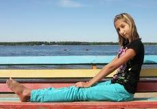 Retrato de la muchacha del adolescente Imagen de archivo