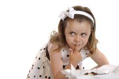 Retrato de la muchacha del aYoung Imagen de archivo libre de regalías