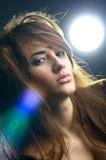 Retrato de la muchacha hermosa Fotografía de archivo libre de regalías