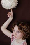 Retrato de la muchacha hermosa Fotos de archivo libres de regalías