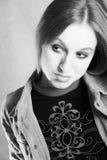Retrato de la muchacha hermosa Imagen de archivo libre de regalías