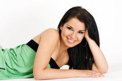 Retrato de la muchacha hermosa joven Imagen de archivo
