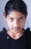 Retrato de la muchacha india del pueblo Fotos de archivo libres de regalías