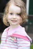 Retrato de la muchacha linda Imagenes de archivo
