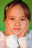 Retrato de la muchacha linda Foto de archivo