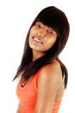 Retrato de la muchacha negra. Imagen de archivo libre de regalías