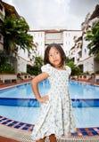 Retrato de la muchacha vietnamita Foto de archivo