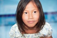 Retrato de la muchacha vietnamita Imagenes de archivo