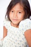 Retrato de la muchacha vietnamita Foto de archivo libre de regalías