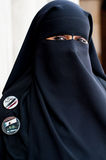 Retrato de la mujer árabe Imagenes de archivo