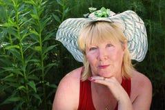 Retrato de la mujer Fotos de archivo libres de regalías
