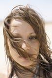 Retrato de la mujer. Fotografía de archivo libre de regalías