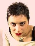 Retrato de la mujer Fotografía de archivo