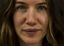 Retrato de la mujer Imagen de archivo