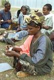 Retrato de la mujer de la asociación del microcrédito foto de archivo libre de regalías