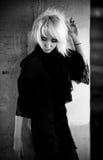 Retrato de la mujer de Goth Foto de archivo libre de regalías
