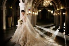Retrato de la mujer de la boda Fotos de archivo libres de regalías