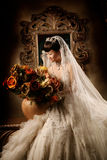 Retrato de la mujer de la boda Foto de archivo libre de regalías