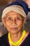 Retrato de la mujer de la tribu de Karen Fotografía de archivo