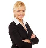 Retrato de la mujer de negocios Fotos de archivo libres de regalías