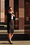 Retrato de la mujer de negocios Foto de archivo libre de regalías