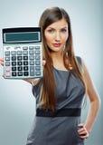 Retrato de la mujer de negocios del contable Foto de archivo libre de regalías