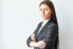 Retrato de la mujer de negocios joven fotos de archivo libres de regalías