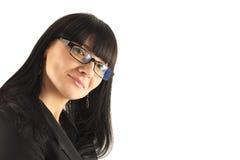 Retrato de la mujer de negocios sonriente fotos de archivo libres de regalías