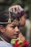 Retrato de la mujer de Tharu, Nepal Imágenes de archivo libres de regalías