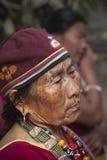Retrato de la mujer de Tharu, Nepal Fotos de archivo libres de regalías