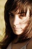 Retrato de la mujer de WYoung Foto de archivo libre de regalías