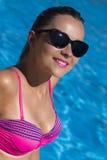 Retrato de la mujer en bikini Fotografía de archivo libre de regalías
