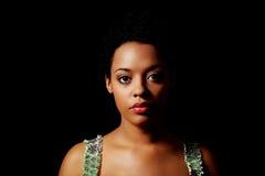 Retrato de la mujer hermosa Imagen de archivo