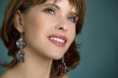Retrato de la mujer hermosa Fotografía de archivo libre de regalías