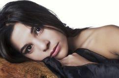 Retrato de la mujer hermosa Foto de archivo