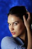 Retrato de la mujer hermosa imagen de archivo libre de regalías