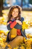 Retrato de la mujer hermosa joven Foto de archivo libre de regalías