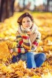 Retrato de la mujer hermosa joven Imagen de archivo libre de regalías
