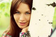 Retrato de la mujer hermosa joven Fotografía de archivo
