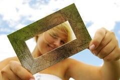 Retrato de la mujer joven Imágenes de archivo libres de regalías