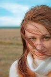 Retrato de la mujer joven Imagen de archivo